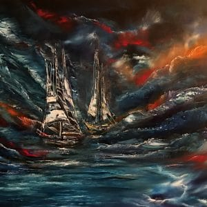 Ghost Ships in the Storm